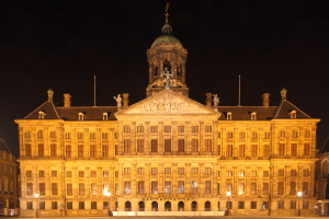 Spotlight Amsterdam Royal Palace amsterdambynight Night